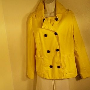 Old Navy All Cotton Yellow Jacket. L